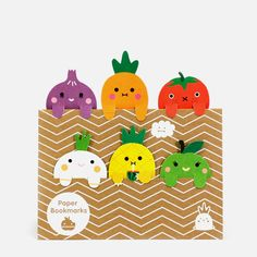 Fruit Bookmarks from Noodoll