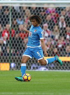 Nathan Aké ~ AFC Bournemouth #5 Afc Bournemouth, Manchester City, Soccer, Football, Running, Holland, Futbol, Futbol, European Football