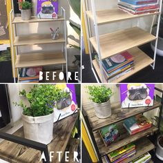 Kmart Hacks Australia! Do it yourself, DIY! Kmart Hack with Ladder Bookshelf #kmart #kmarthack
