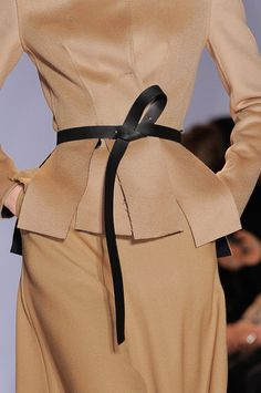 Yang Li at Paris Fashion Week Fall 2014 - StyleBistro