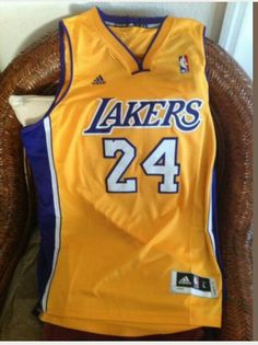 Kobe Bryant LA LAKERS adidas nba jersey