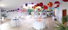 We are seeing a return of #rainbows for #wedding #color #trends. TY @triweddingcntrl