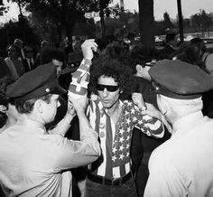Abbie Hoffman  The 1968 Democratic party convention.