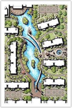 5 Centered Clever Tips: Big Garden Landscaping Courtyards home garden landscaping front yards. Landscape Architecture Drawing, Landscape Design Plans, Landscape Drawings, Architecture Plan, Urban Landscape, Architecture Definition, The Plan, How To Plan, Mulch For Vegetable Garden