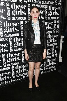 Life Lessons From Alexa Chung, Amy Poehler, and Zosia Mamet at @Glamour's 'These Girls' via @New York Magazine