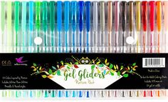 A pack of nature-inspired Bellbird gel ink pens to bring even more life to your next landscape drawing. | 24 Ridiculously Cool Pens That Will Inspire You To Write More