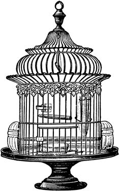 For all of the bird lovers, here's a lovely vintage bird cage clip art image. This one comes in JPG and PNG format and can be used commercially. Download Free Vintage Bird Cage Clipart JPG Downlo...