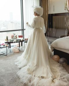 Yunus Sena Karlıoğlu ( The Ins Muslimah Wedding Dress, Muslim Wedding Dresses, Muslim Brides, Wedding Hijab, Wedding Bride, Bridesmaid Dresses, Bridesmaids, Muslim Couples, Bridal Gowns