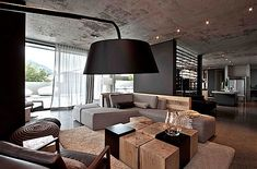 Contemporary Residential Interior Design with Neutral Color Tone