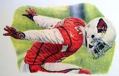 Pro Football Journal: Arizona Cardinals All Career-Year Team Sports Art, Sports Decor, Patrick Peterson, Iron Art, Arizona Cardinals, Cool Artwork, Tigger, Colored Pencils, Illustrators