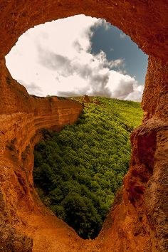 Mountain Portal, El Bierzo, Spain photo via heather