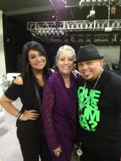 Selena's family,sister mom n brother.