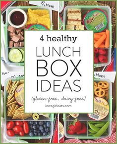 4 Easy Lunchbox Ideas (GF/DF) | iowagirleats.com