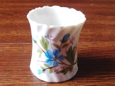 Vintage Hand Painted Flowers Toothpick Holder by GrannyRuthsAttic, $8.00