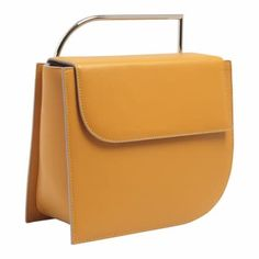 This wallet is so charming you won't want to hide it in your bag. It can work perfectly fine as a pochette if you just need to carry your phone and some money. Calf leather on the outside and on the inside.