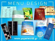 Σχεδιασμός - εκτύπωση - πλαστικοποίηση - δίπλωμα - κόψιμο - ραφή...