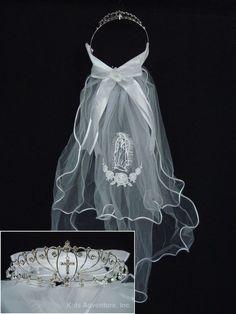 beautiful+first+communion+veils   home > first communion veils > first communion veil hc-md457