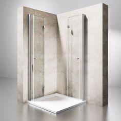 Duschabtrennung Duschkabine Schwingtür Dusche Wand Falttür Eckeinstieg RAVENNA26