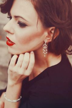 model: Amanda  Jewelry: Boone and Sons Jewelry Makeup: Betsy Cuadrado