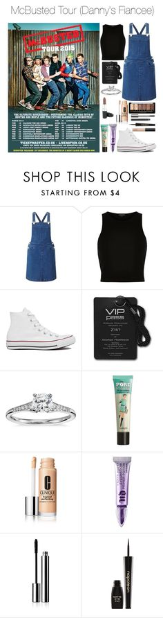 """McBusted Tour (Danny's Fiancee)"" by xkidinthedarkx ❤ liked on Polyvore featuring Miss Selfridge, River Island, Converse, Blue Nile, Benefit, Urban Decay, Shiseido, Napoleon Perdis, NARS Cosmetics and mcfly"