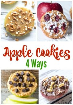 Apple Cookies Four W