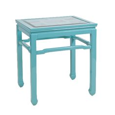 Chinright Turquoise Side Table