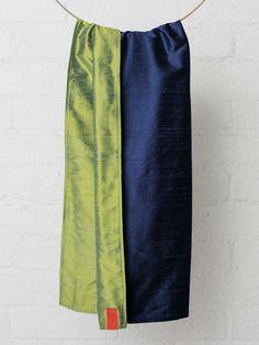 Ink-Bluegrass Essential Silk