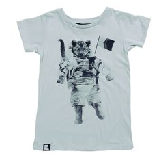 goldfish.be » Tiger on The Moon Tee