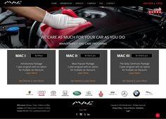 Custom Car Care Web Design Layout Design, Web Design, Custom Cars, Custom Design, Website, Real Estate, Design Web, Car Tuning, Real Estates