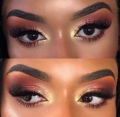"black women's makeup eyeshadow History of eye makeup ""Eye care"", put simply, ""eye make-up"" Makeup For Black Skin, Makeup Eye Looks, Black Girl Makeup, Blue Eye Makeup, Cute Makeup, Girls Makeup, Gorgeous Makeup, Makeup Eyeshadow, Eyeshadow Ideas"