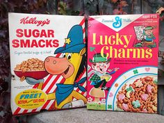 Kellogg's Sugar Smacks - Featuring Smaxey the Seal. Description from pinterest.com. I searched for this on bing.com/images