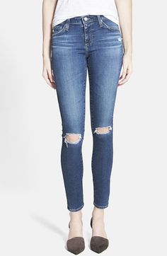 AG Alexa Chung for AG 'The Legging' Ankle Jeans