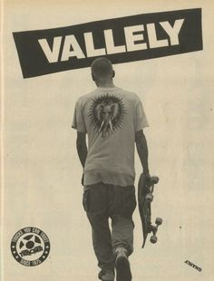 Tracker Trucks - Mike Vallely Ad (1988)