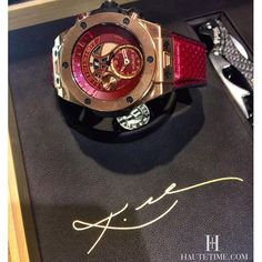 Happy Birthday @kobebryant  An opportunity to Buy the Number #01 of 100 pieces  Hublot Big Bang UNICO Chronograph Retrograde Kobe Vino Bryant King Gold at Hublot Boutique in San Francisco @hublot_sanfrancisco #Hublot #KobeBryant #BigBang #HauteTimeHublot by hautetime