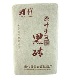 $35.99 + $2.99 shipping  Sunny Hill Anhua Yuntai Mount Wild Dark Tea Hand-made Pu'er Brick Tea 400g 14.1oz,production Supervised Personally By the Shop Owner, Private Collections , Sharing It with All Friends Sunny Hill http://www.amazon.com/dp/B00R61WKSG/ref=cm_sw_r_pi_dp_TWoqwb0XTAC0Z