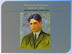 Retrato de Oswald de Andrade (veja o vídeo no painel de videos)