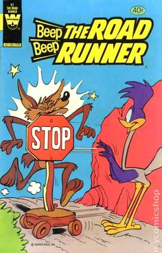 Beep Beep, the Road Runner Issue # 91 (Whitman) Cartoon Posters, Retro Cartoons, Old Cartoons, Classic Cartoons, Vintage Comic Books, Vintage Cartoon, Vintage Comics, Cartoon Wallpaper, Retro Wallpaper