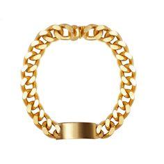 Chunky gold chains feel fresh and modern