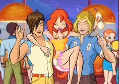 Brandon, Bloom and Sky, Winx Club Season 4