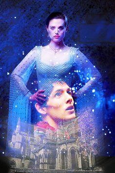 More Merlin and Morgana art