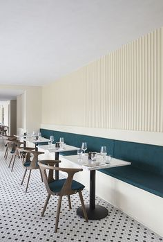Norm Architects Create Dark Industrial Interior for Copenhagen Restaurant Restaurant Design, Deco Restaurant, Restaurant Concept, Italy Restaurant, Wings Restaurant, Restaurant Lighting, Commercial Design, Commercial Interiors, Copenhagen Restaurants