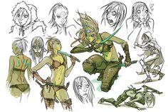 New Kexilath drawings Fantasy Character Design, Character Design Inspiration, Character Concept, Character Art, Dungeons And Dragons Characters, Fantasy Characters, Dnd Characters, Fictional Characters, Yuan Ti