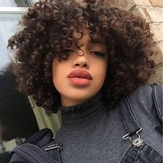 Pretty hairstyles, girl hairstyles, curly girl, hair goals, curly h Short Curly Hair, Curly Girl, Curly Hair Styles, Natural Hair Styles, Kinky Curly Hair, Afro Hairstyles, Pretty Hairstyles, Hair Inspo, Hair Inspiration
