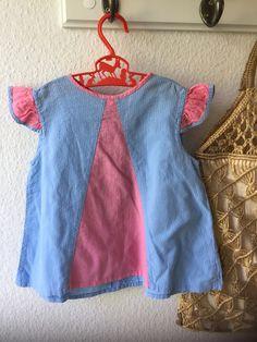 Simple Dresses, Blue Dresses, Summer Dresses, Swedish Girls, Aprons Vintage, Apron Dress, Retro Color, Vintage Children, Vintage Looks