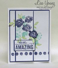 Stamp Review Crew: Painted Petals Edition