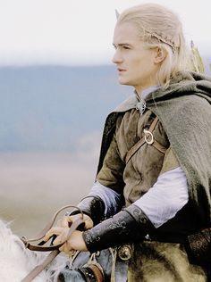 Legolas on horseback