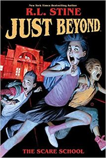 Cover image for Just beyond. The scare school Book Review Sites, Funny Pigs, Fiction Movies, Animal Magic, 12th Book, Teen Pictures, Chapter Books, Got Books, Free Kindle Books