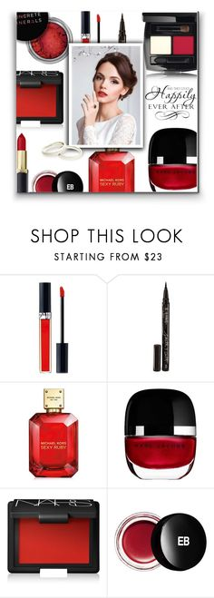 """""""Beauty - Wedding"""" by ajspragu02 ❤ liked on Polyvore featuring beauty, Christian Dior, Smith & Cult, Concrete Minerals, Michael Kors, Marc Jacobs, NARS Cosmetics, Edward Bess and WALL"""