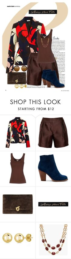 """""""Love of Fall"""" by warleda ❤ liked on Polyvore featuring Delpozo, Oscar de la Renta, Michael Kors, Sole Society, DutchCrafters, BERRICLE and Talbots"""
