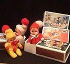 Memories!! Original Baby William matchbox beanie doll, with original box.
